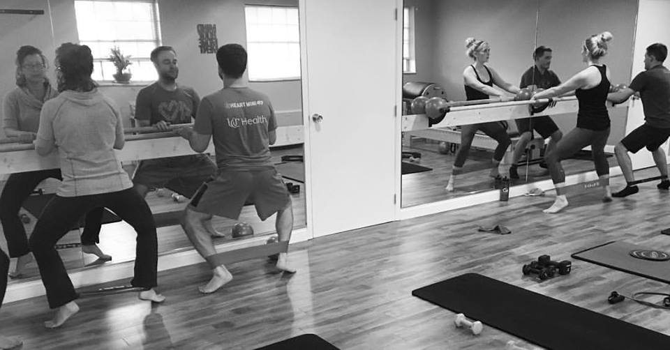 New Group Express Barre Class Time:   Wednesday, September 6th  6:00pm-6:45pm
