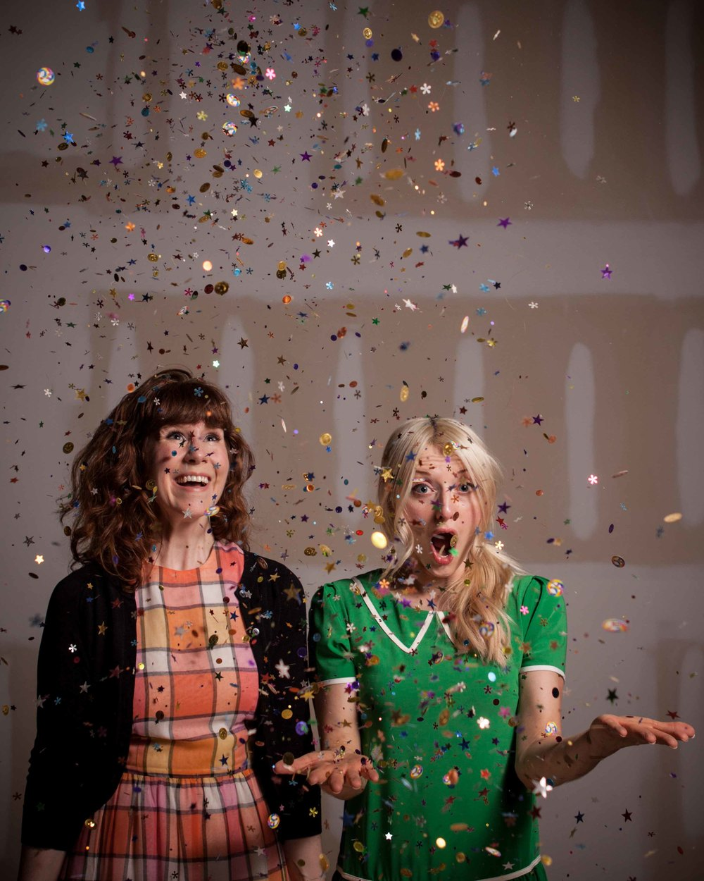 Oh the joy that is confetti!