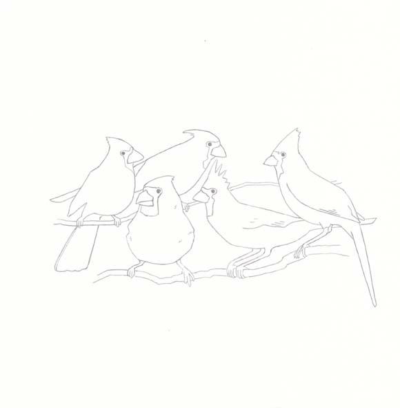 Indiana - Cardinal - Five