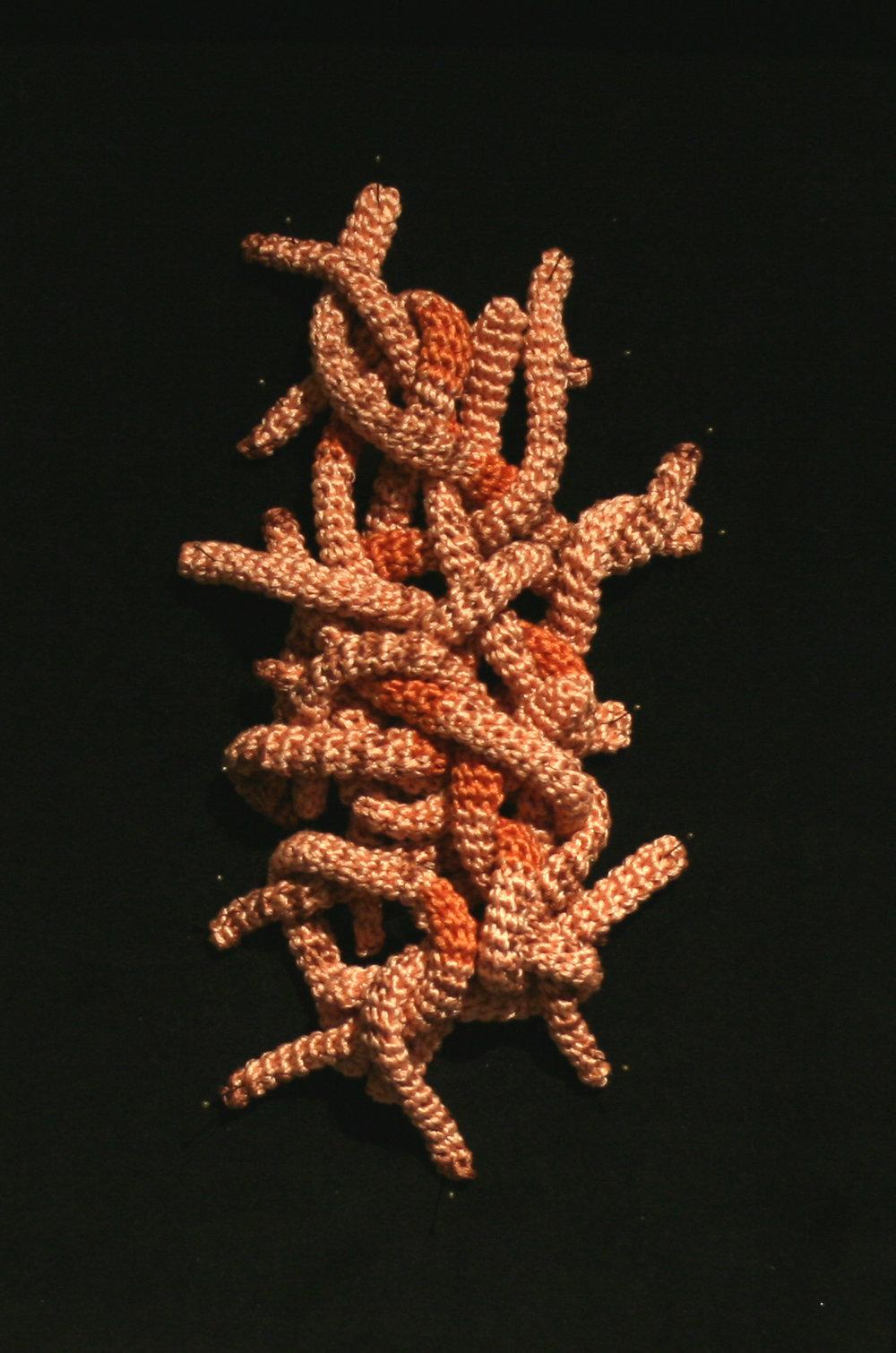 "Earthworms, 2016, 8"" x 4"" x 1.5"""