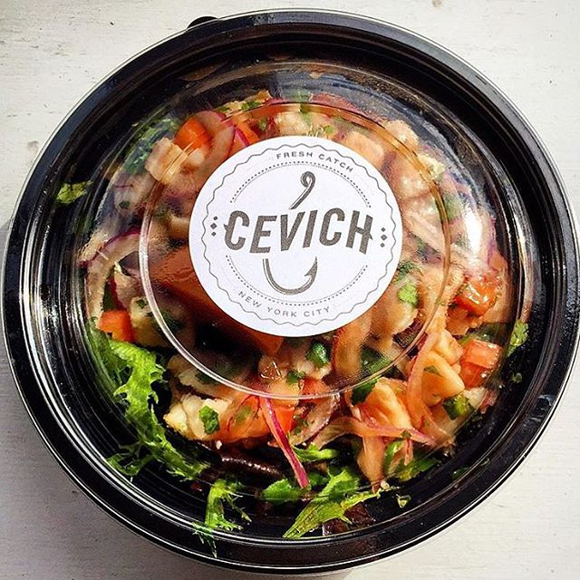 Fresh not fancy 🐠🍴 #Cevich #ceviche #cevichny #unionsquare #freshnotfancy