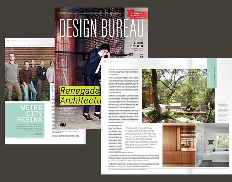 Design bureau magazine u a parallel architecture austin texas