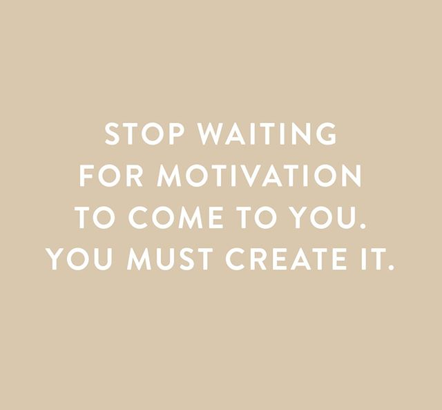 STOP WAITING. ⠀⠀⠀⠀⠀⠀⠀⠀⠀ ⠀⠀⠀⠀⠀⠀⠀⠀⠀ Don't wait for motivation and inspiration to find their way back into your life. You must create the fire. ⠀⠀⠀⠀⠀⠀⠀⠀⠀ ⠀⠀⠀⠀⠀⠀⠀⠀⠀ Keep pushing yourself. Keep going. Keep pealing back the layers of the onion.⠀⠀⠀⠀⠀⠀⠀⠀⠀ ⠀⠀⠀⠀⠀⠀⠀⠀⠀ Believe that motivation is not something that falls into your lap, but it's something that you have the ability to cultivate. ⠀⠀⠀⠀⠀⠀⠀⠀⠀ ⠀⠀⠀⠀⠀⠀⠀⠀⠀ It doesn't need to be Monday, tomorrow or a new year. It can be right now, today.
