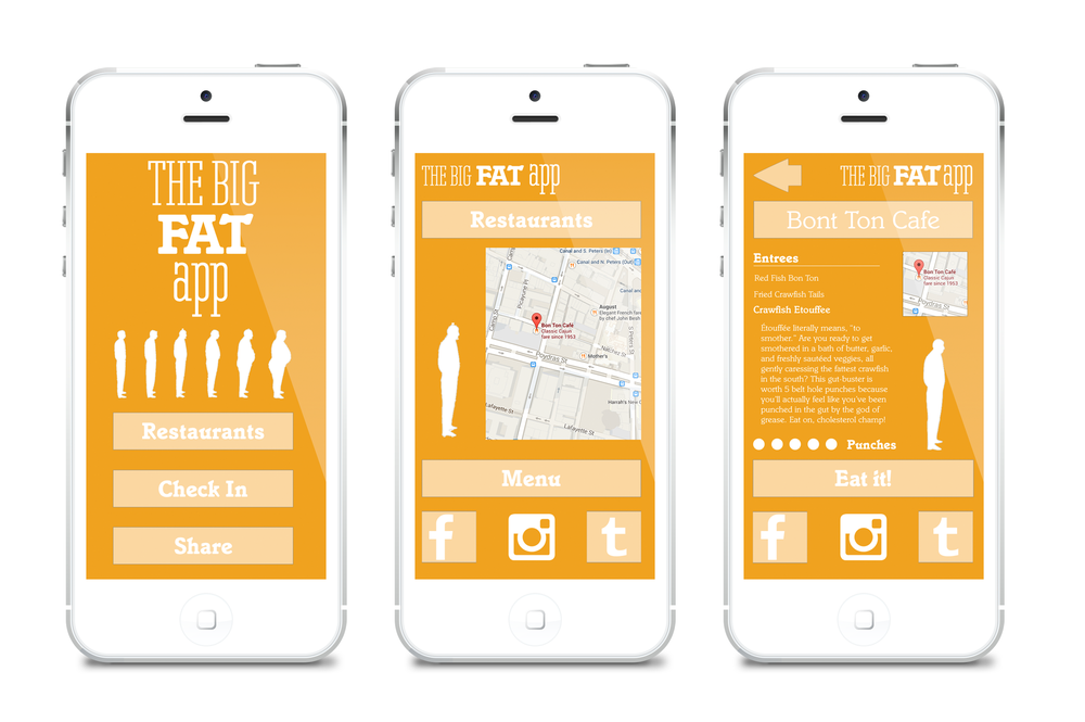 The Big Fat App to help you eat your way through New Orleans