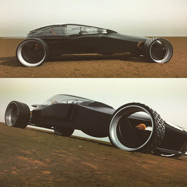 #3d #3dvisualization #3ddesign #conceptart #conceptcar #design #cardesign #cars #f1 #offroading #vehicle #vehicledesign progress on the vehicle design