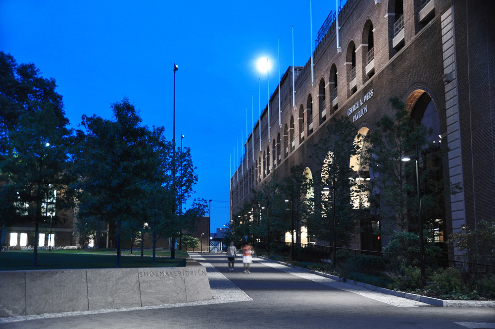 Shoemaker green u2014 tillett lighting design associates