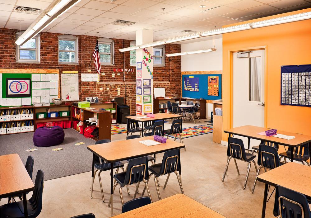 Newark charter school u tillett lighting design associates