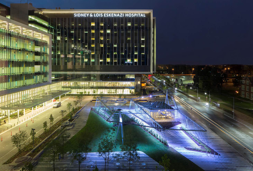 Wishard Hospital Pavilion & Tillett Lighting Design Associates azcodes.com