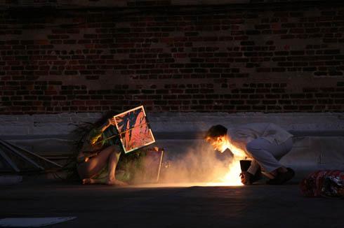 Tillett Lighting Design in collaboration with Choreographers Jon Kinzel and Jodi Melnick created u201cAvailable Lightu201d for Open House New York 2011. & Available Light