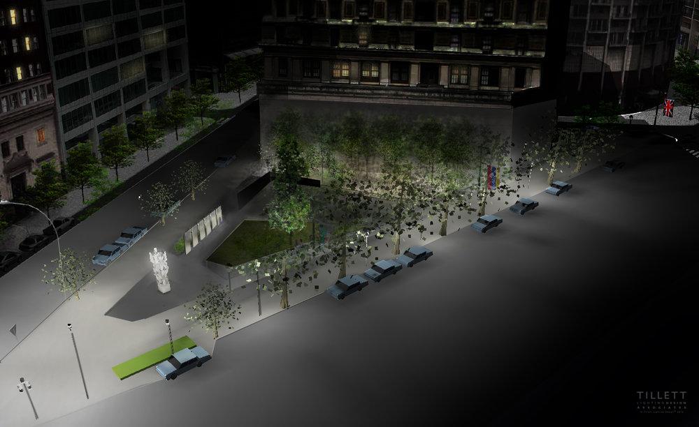 Philadelphia holocaust memorial u2014 tillett lighting design associates