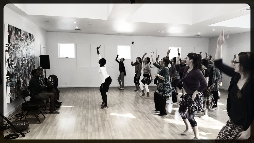 SDF African Dance workshop with Rujeko Dumbutshena