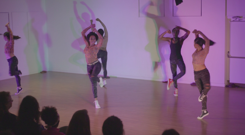 STAYCEE PEARL Dance Project Residency. Still by Jeremiah Hutchens Productions