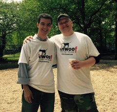 NYC Councilman Ydanis Rodriguez (left) with Inwoof President Jason McDowell (right).