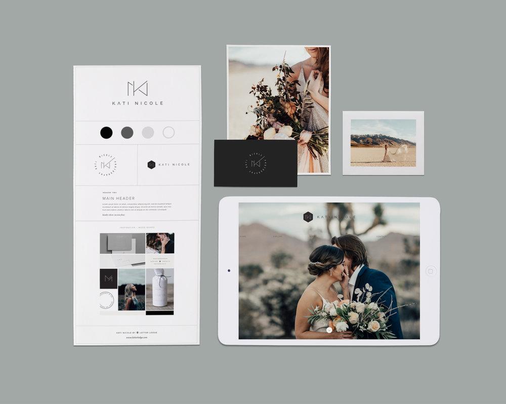 Letter Lodge Branding Services Kati Nicole Photography Pinterest Instagram Modern Minimal Portland Oregon Photographer Wedding Elopement.jpg