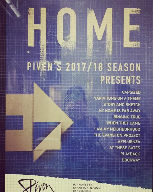 """We are so EXCITED about our upcoming show at Piven Theatre """"Variations on a Theme"""". October 9th & 10th. Come check it out!!"""