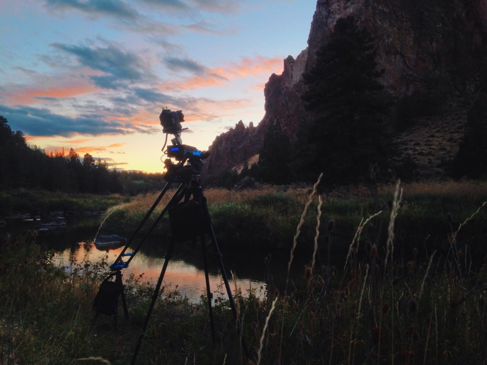 Sunset at Smith Rock.