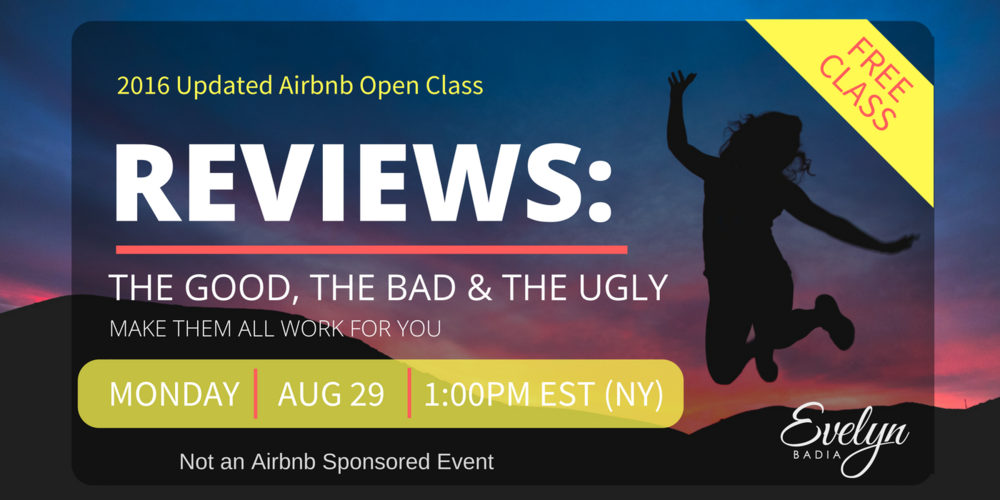 AIRBNB REVIEWS WEBINAR