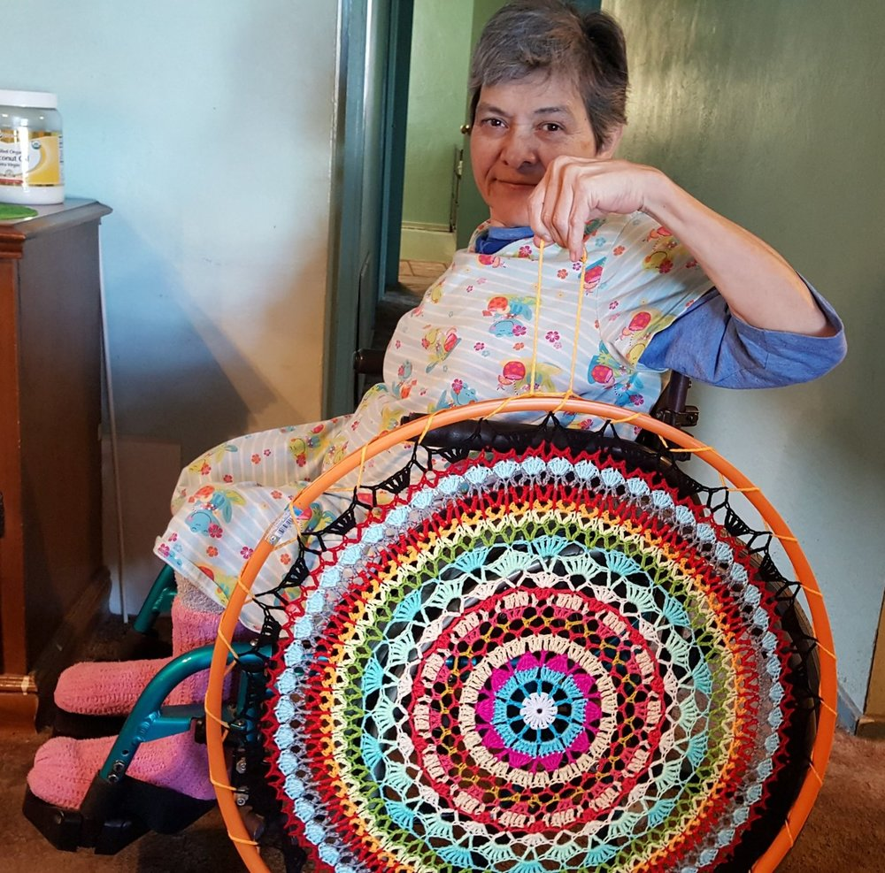 My Facebook post to a large group of crocheters...