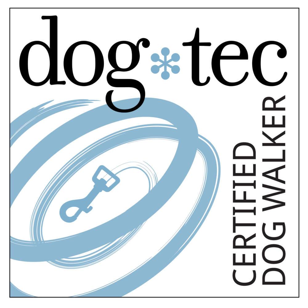 dog*tec Certified Dog Walker Logo