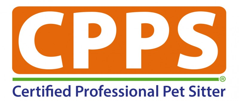 Certified Professional Pet Sitter Logo