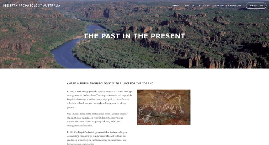 In Depth Archaeology Australia