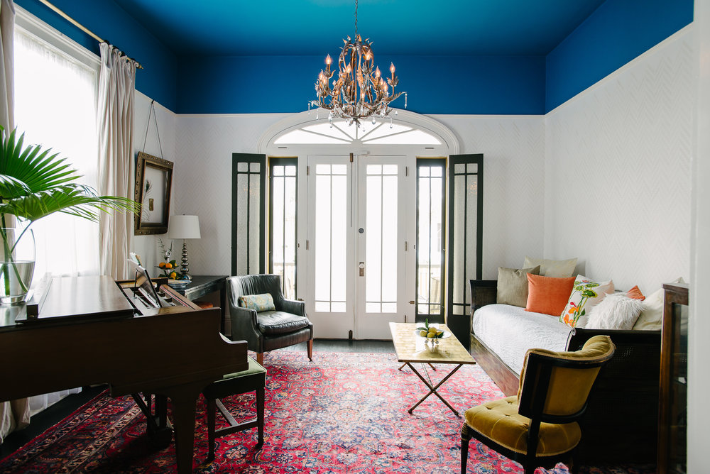 Merry Lake's Magical Home in the Marigny - A sweet New Orleans home on Design Sponge.