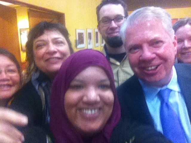 "SHSC's ""selfie"" with Mayor Murray."