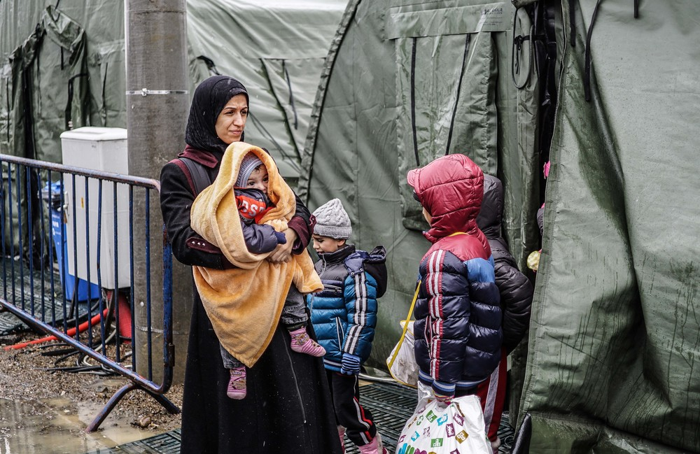 Syrian Refugee Crisis Croatia Slavonski Brod Winter Refugee Camp November 2015 15.jpg