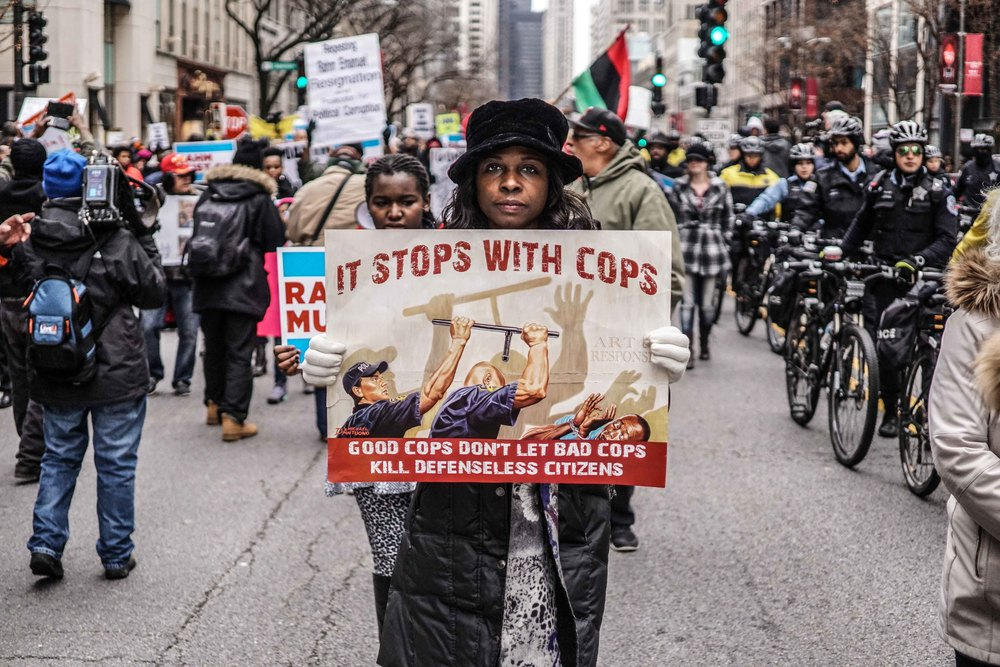 Laquan Mcdonald Protest Resign Rahm Christmas Eve December 2015 Harrison Bruhn 17.jpg
