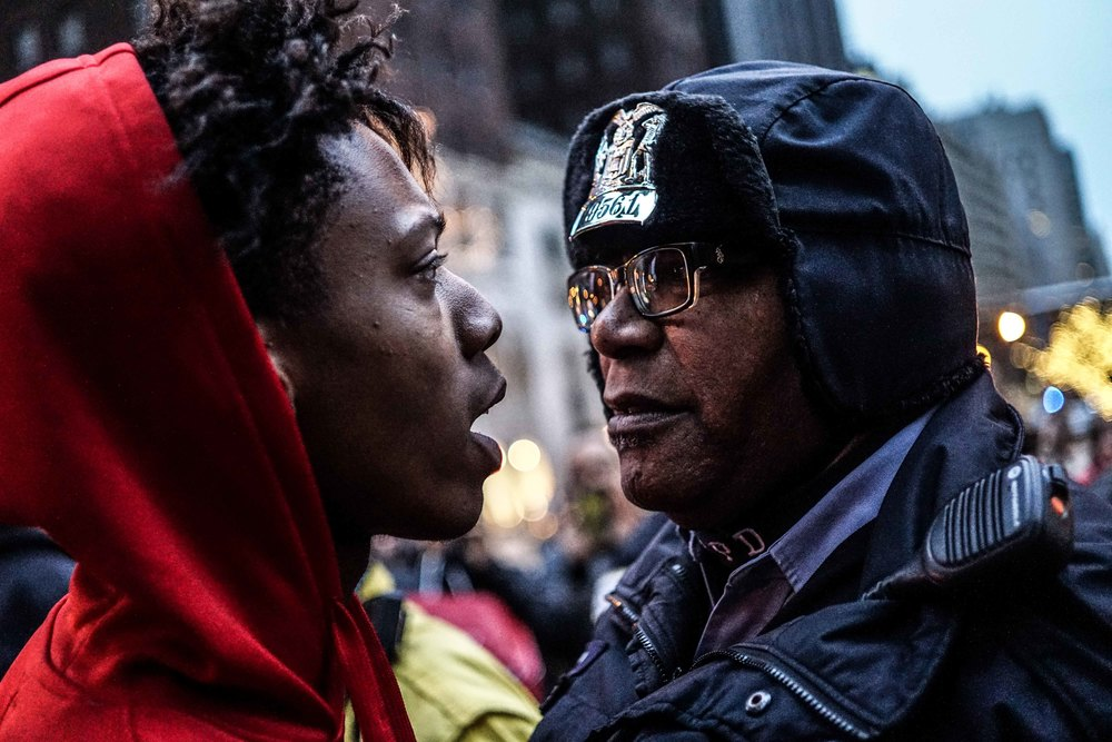 Laquan Mcdonald Protest Resign Rahm Christmas Eve December 2015 12.jpg