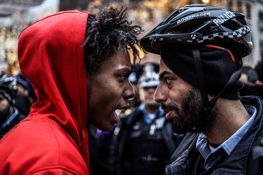 Laquan Mcdonald Protest Resign Rahm Christmas Eve December 2015 10.jpg