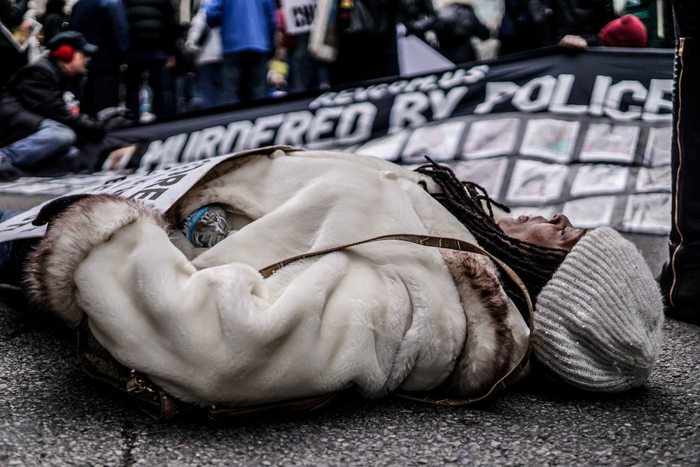 Laquan Mcdonald Protest Resign Rahm Christmas Eve December 2015 15.jpg