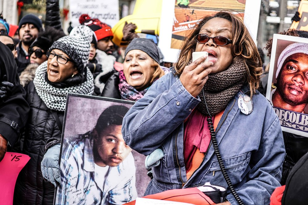 Laquan Mcdonald Protest Resign Rahm Christmas Eve December 2015 Harrison Bruhn 35.jpg