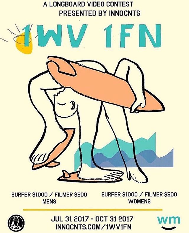 Our amigos @innocnts are at it again with their OG, 1 wave 1 fin contest. Upload a doozy to insta and tag #1wv1fn17 to be a part. Very good prizes up for the taking! Good viewing too, go check it out!!!