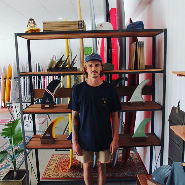 Well, we have a shop!!! Now open for business at unit 9, 4 Banksia Drive, Byron Bay. This is Angus, he is the man running the show there for us,so come see him and I this week sometime. We'll be handing out beers and good vibes everyday until Christmas 10am-4pm. The space is a combination of our canvas and leather workshop, showroom, shaping bay and dispatch and is shared with good friends @deadkooks and @businessandpleasure_co to provide the biggest pick of tsm fins, very fine surf craft, full range of the worlds most beautiful beach umbrellas, Beach tents, apparel and other specialty goods!