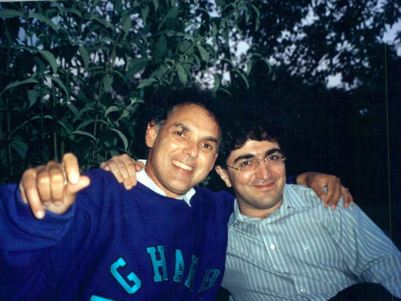 Paul Schenly with Sergei Babayan
