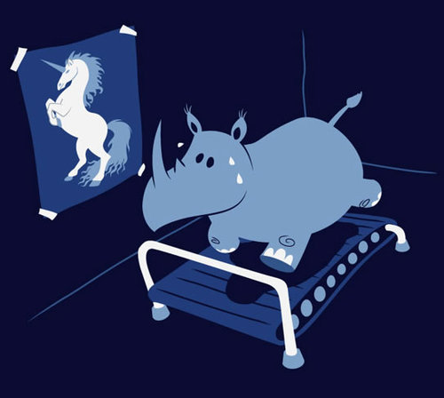 Or this rhino. I would invite because he is clearly too legit to quit. Run, rhino, run.