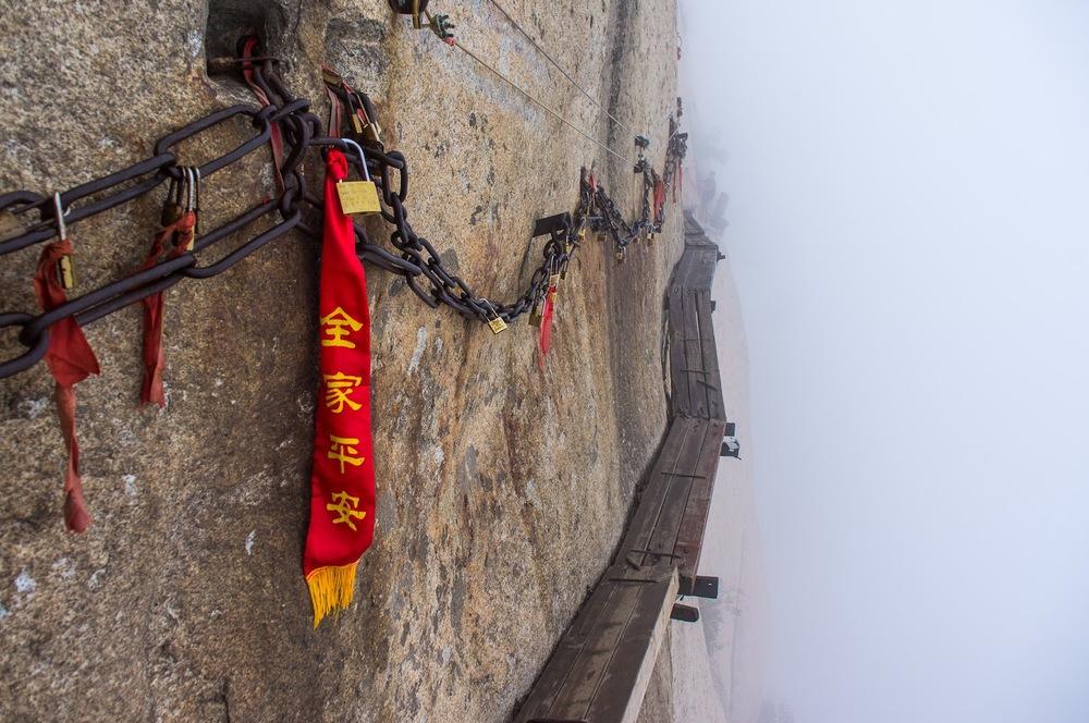 Mt. Huashan, China.