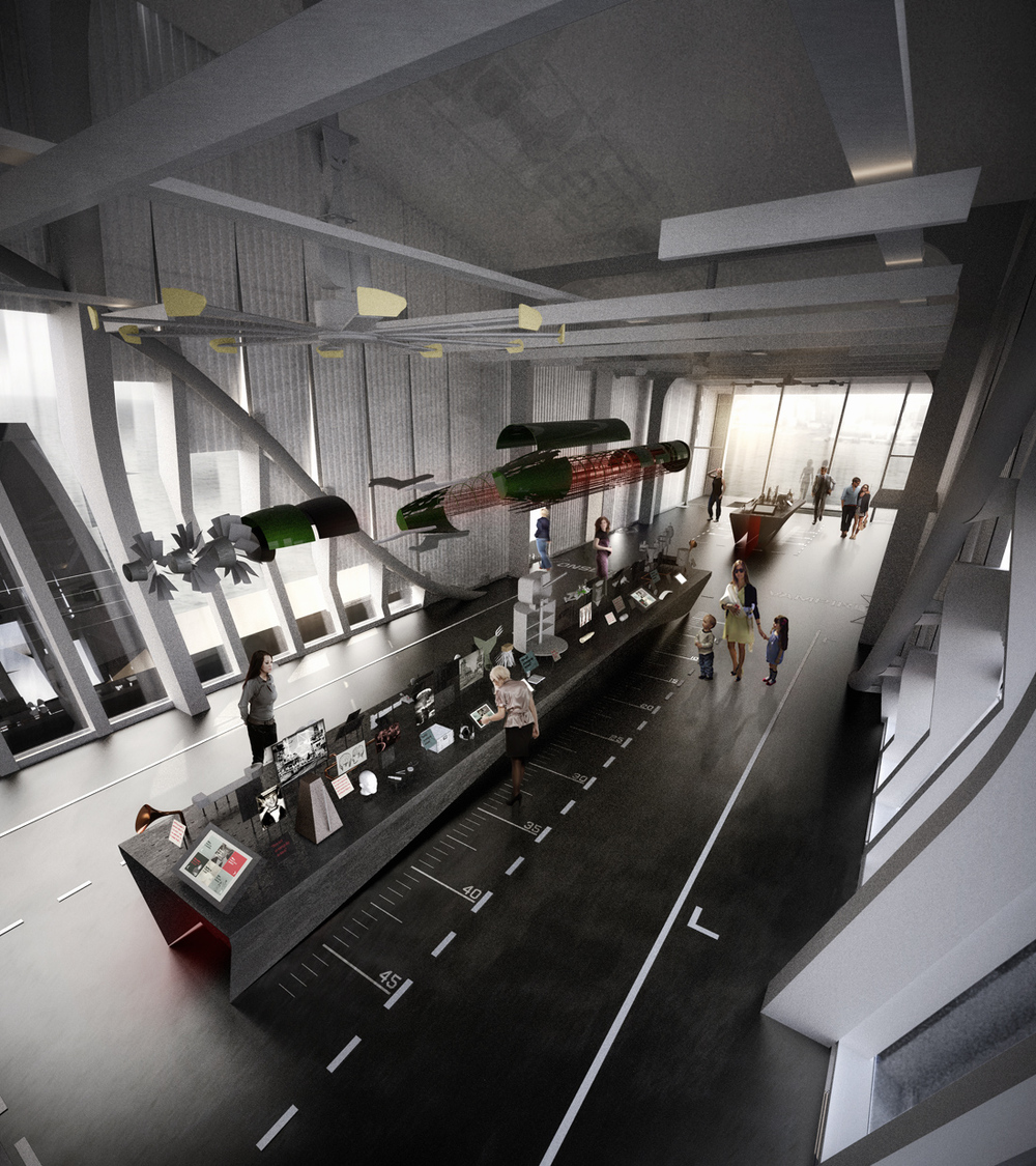 "studioplusthree's design for the Discovery and Exploration Space; part of the ""Action Stations"" experience for the Australian National Maritime Museum"