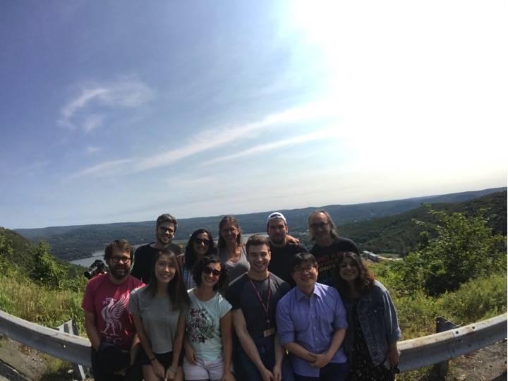 Summer in September for our lab retreat  (back row, left to right) Andreas Lamprakis, Kripa Ganesh, Bethany Schaffer, Andre Chavez, John Blenis  (front row) Michal Nagiec, Vivien Low, Joana Nunes, Adam Rosenzweig, Sungyun Cho, Tasnia Islam  September 2017