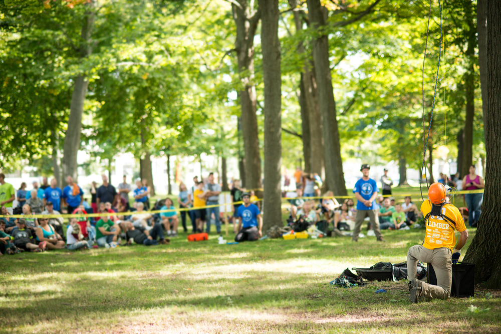 Event Coverage-Michigan Tree Climbing Championships Masters Challenge
