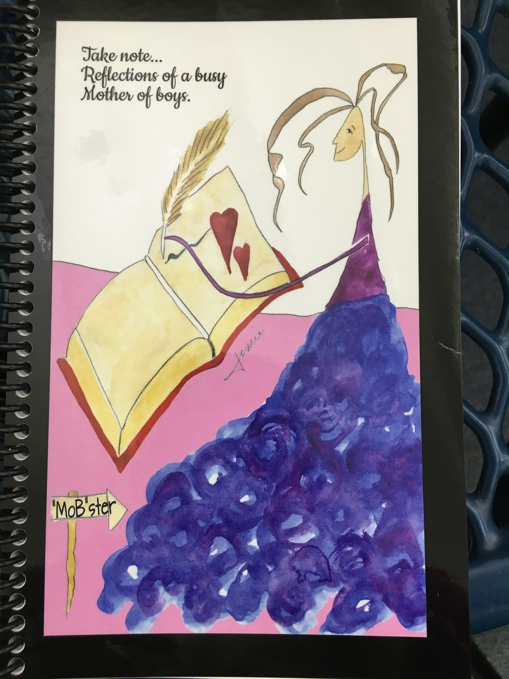 Please contact us for your personal MoB journal.  These books were created just for YOU with MoB love.