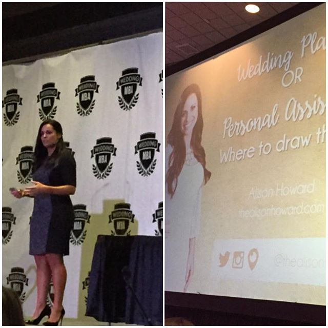 Since I started my business, watching #AlisonHoward youtubes have helped and motivated me. I'm so happy that I finally get to see her speak in person. Her seminar is everything #PlannerGoals #WeddingMBA #knowledgeiseverything #lasvegas #VvSocialEvents #ChicagoWeddingPlanner #ChicagoEventPlanner #DayOfAPlanner #bosslady #womenentrepreneurs #chicagowomen