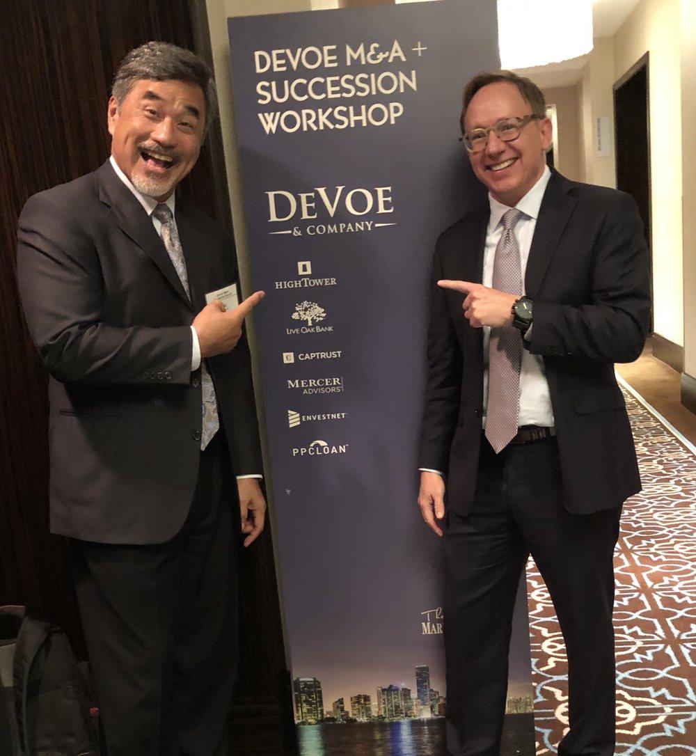 Vic Esclamado - DeVoe & Company, David DeVoe - DeVoe & Company