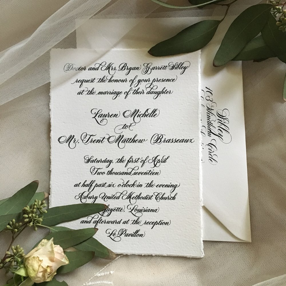 Lauren's Wedding Invitation