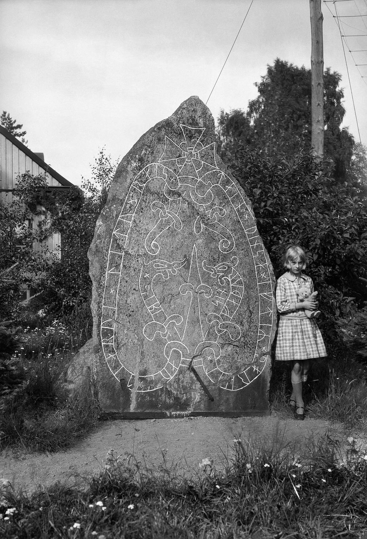 Memorial Runestone in Söderby, Botkyrka, Sweden