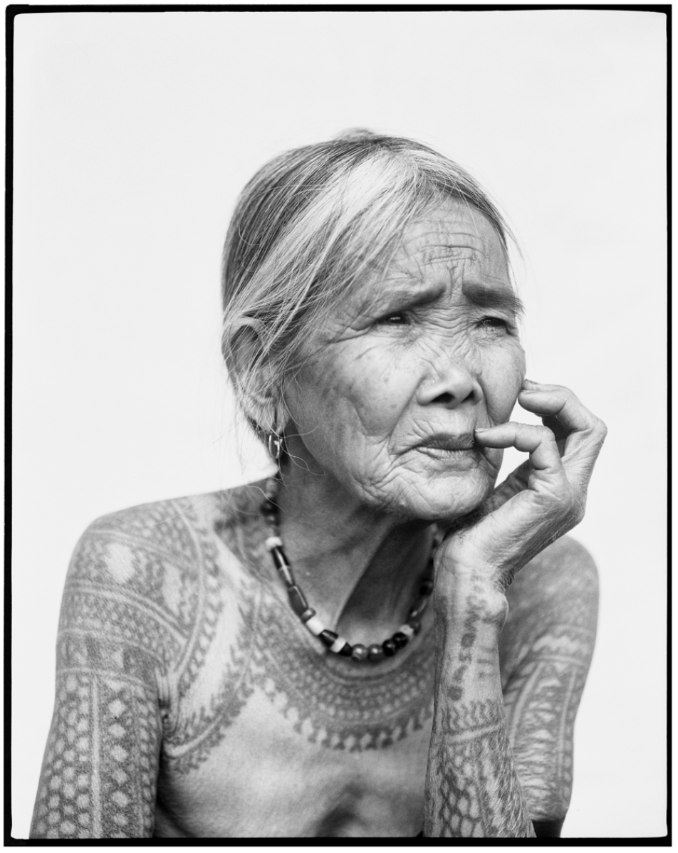 "Fang-od Oggay, from ""The Last Tattooed Women of Kalinga"" by Jake Verzosa"