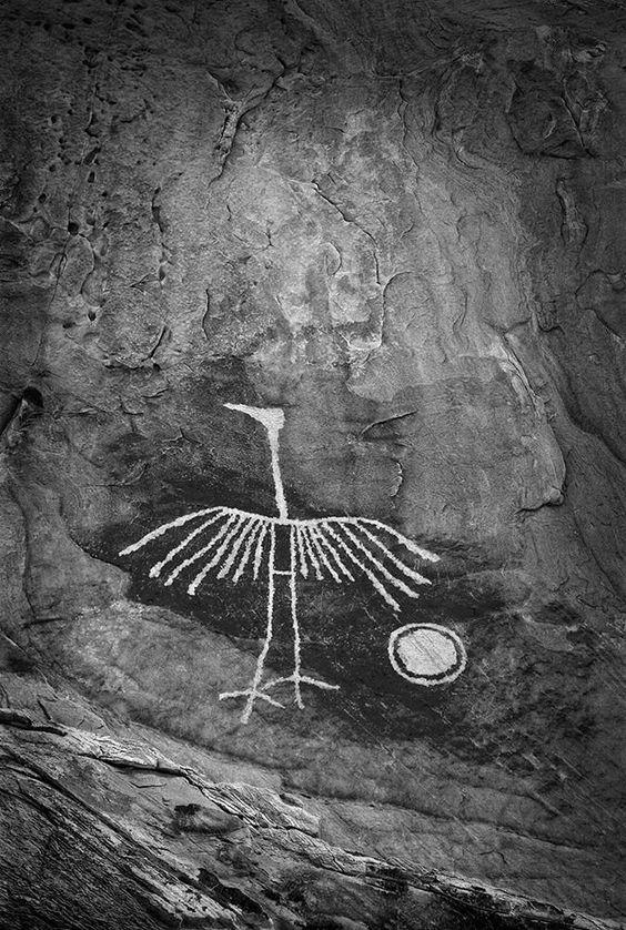 Native American petroglyph photographed by John Mumaw, 2013