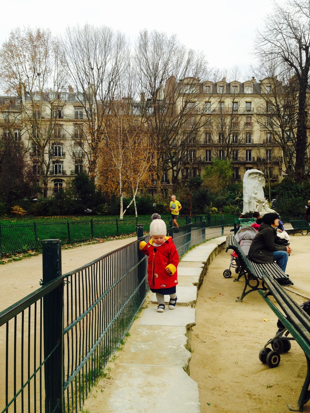 Parc Monceau has a great playground and running track