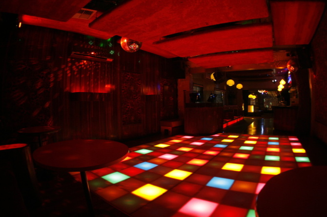 The hallowed turf of Melbourne nightclub 161. Photo from onesixone.com.au